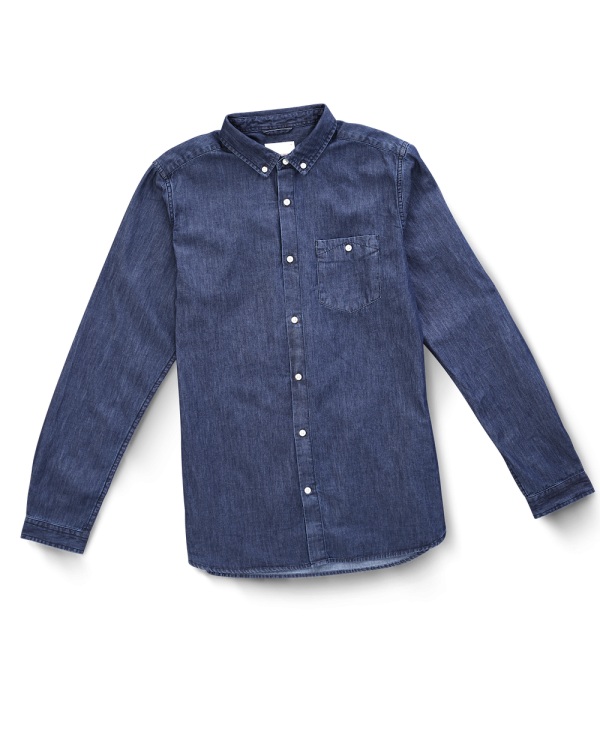 Chemise Denim Knowledge Cotton Apparel