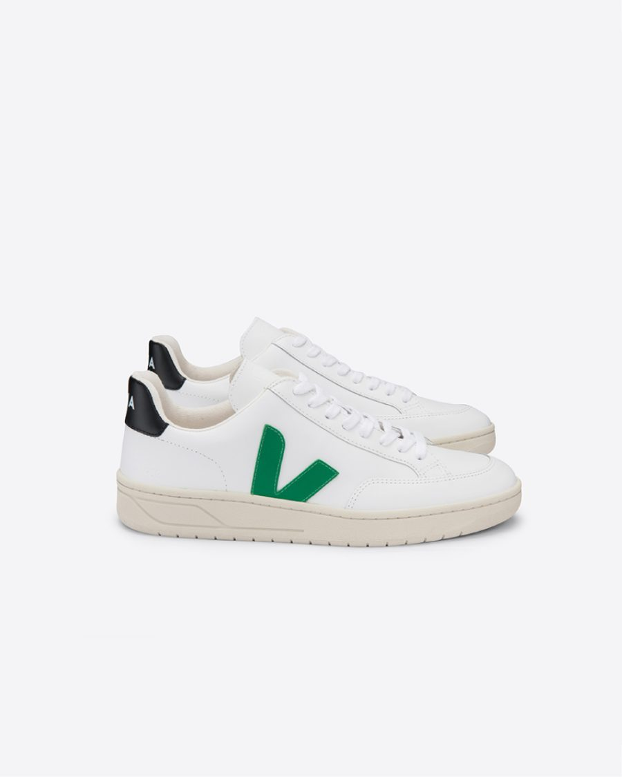 V-12-LEATHER-EXTRA-WHITE_EMERAUDE_BLACK_lateral