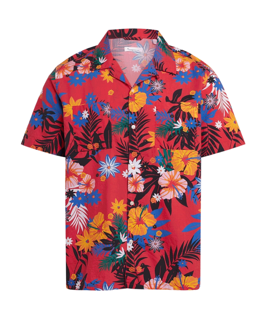 Chemise-Manches-Courtes-Flowers_1